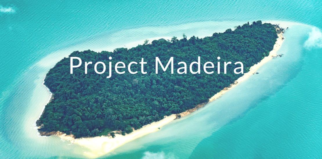 Microsoft Project Madeira, Project Madeira Microsoft