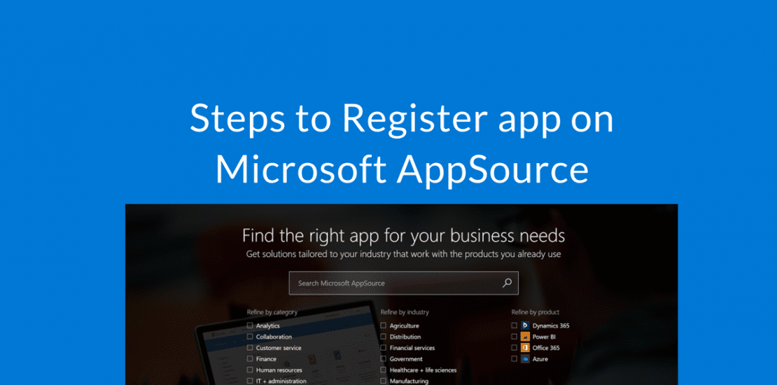 Register app on Microsoft AppSource