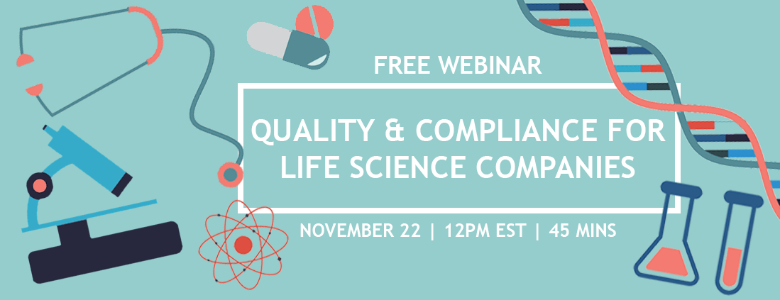 Webinar: Microsoft Dynamics ERP for Life Sciences Quality and Compliance 9