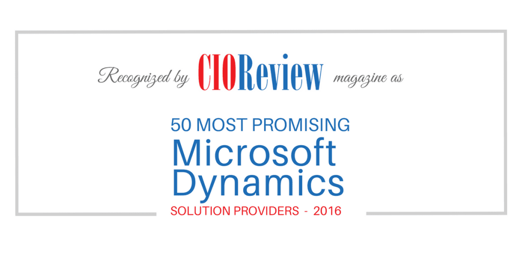 CIOReview Names AXSource One of the 50 Most Promising Microsoft Dynamics Solutions Providers