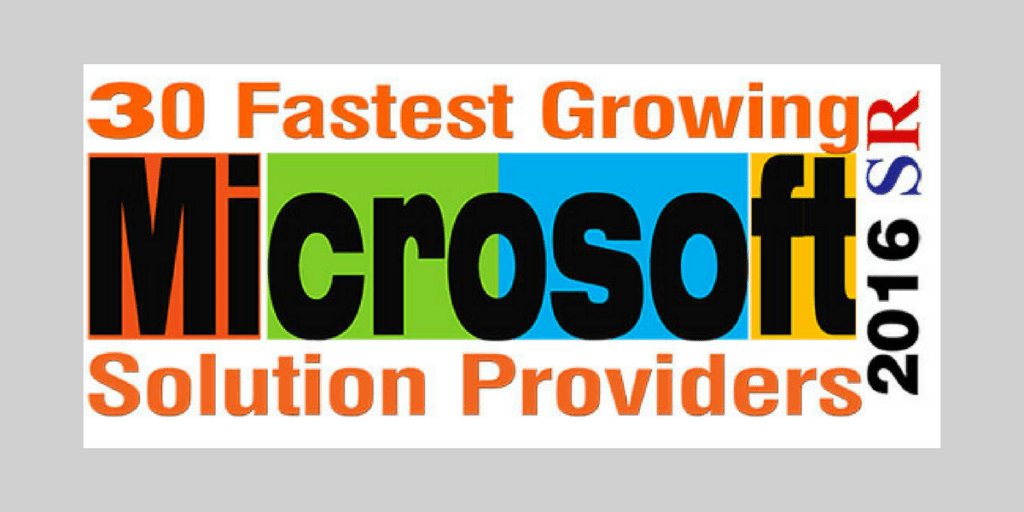 AXSource announced as one of the 30 Fastest Growing Microsoft Solution Providers 2016