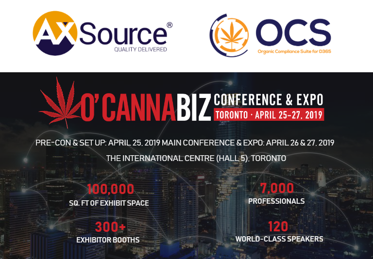 O'Cannabiz Conference & Expo | April 25-27, 2019