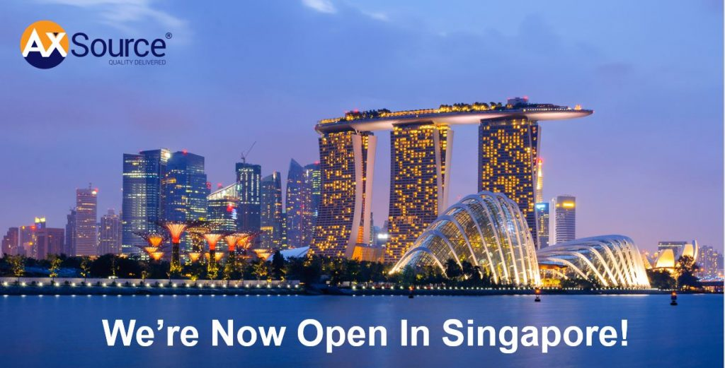 Press Release: AXSource Opens Office in Singapore