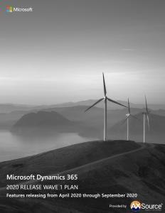 Dynamics 365 Release Wave 1 Plan