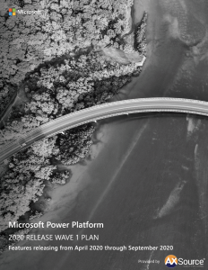 Power Platform Release Wave Plan 1
