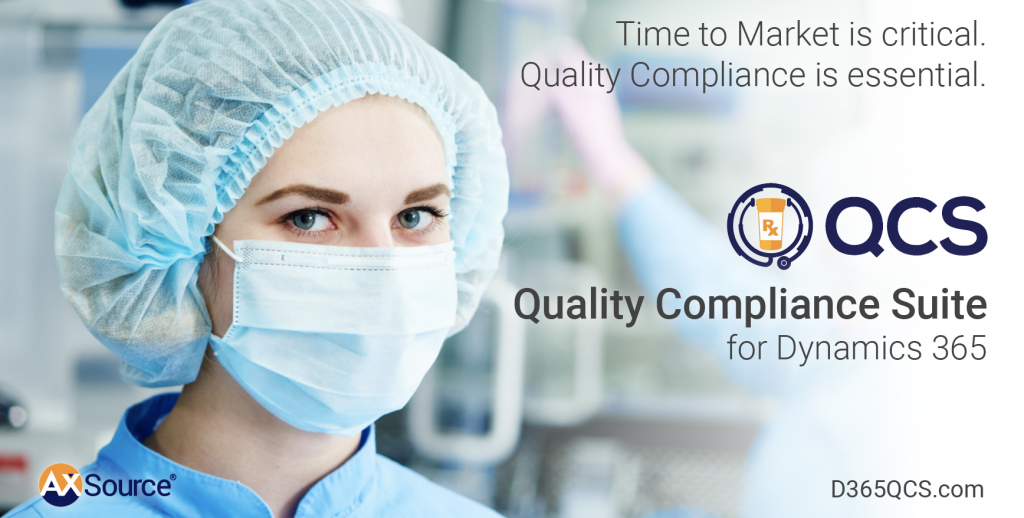 Quality Compliance Suite From AXSource On Microsoft's AppSource